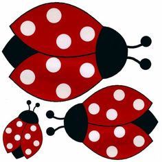 12 Ladybugs Nursery Removable Wall Decor Stickers $23.50