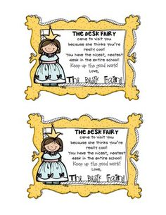 Use these certificates along with a few sprinkles of confetti to reward clean desks in your classroom!  I usually choose one desk per week for the ...
