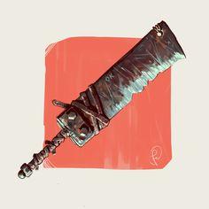 ArtStation - Ugly homemade cleaver, Fernando Correa