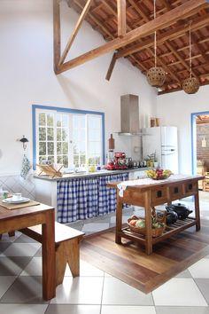 Big Kitchen, Kitchen Items, Kitchen Decor, Küchen Design, House Design, Interior Design, Counter Design, Storage Places, Modular Furniture