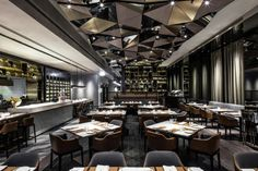 Porterhouse by Laris Restaurant by Kokaistudios, Hong Kong