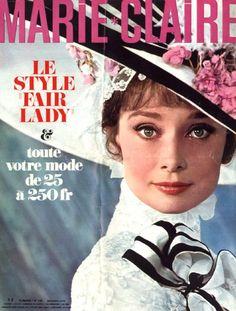 Audrey Hepburn - Marie Claire Magazine [France] (15 March 1966)