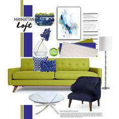 Untitled #569 by cly88 on Polyvore featuring interior, interiors, interior design, дом, home decor, interior decorating, Thrive, Retrò, Arteriors and Safavieh