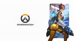 Overwatch Logo Tracer Sexy Girl Picture Game 2560x1440