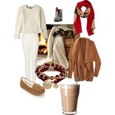 Autumn Days: Business Casual at Home by maya-horikawa, via Polyvore