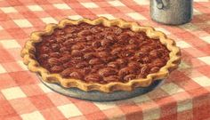 How to Bake a Pecan Pie | Texas Monthly - best pecan pie recipe ever from Ann Criswell and Bud Royer's of Royer's Round Top Cafe