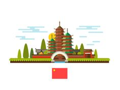 Welcome to world, flat landscape series by Beresnev