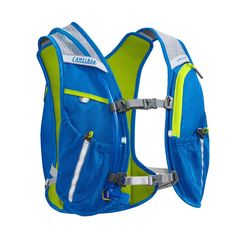 CamelBAK Circuit 1.5L  Running Hydration Vest Pack -  Blue/Lime-15