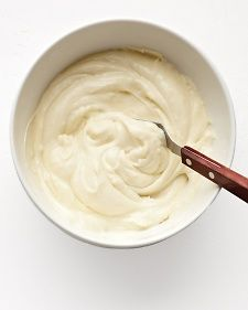 Cream Cheese Frosting. More cream cheese to sugar proportion.