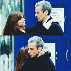 Clara & Twelve start off the first episode with a hug? This is going to be a good season.