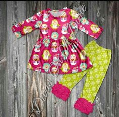 Cutest little snowman outfit! Divas on a dime coop, baby girl, toddler girl, little girls, outfits, fashionista, icings, boutique outfit, headbands, leggings, holiday, ruffles, penguin, winter