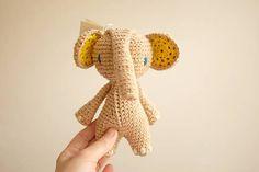 milasila / slon Cute Crochet, Dinosaur Stuffed Animal, Toys, Animals, Activity Toys, Animales, Animaux, Clearance Toys, Animal