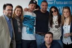 El equipo de Breakmoon con nuestros amigos Aloy, Rafa y Carmen