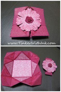 Napkin Fold Card Tutorial
