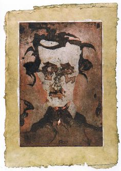 Edgar Allan Poe by Horst Janssen