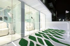 Lawn pattern, IWI Orthodontics designed by Contemporary Architecture Practice
