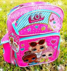 LOL Surprise Dolls Backpack! So so beautiful