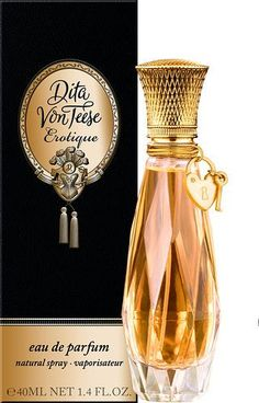 A Whiff of Celebrity, Dita von Teese, don't usually like celebrity perfume but this is nice