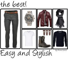 Easy and Stylish for men