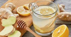 Recette de Infusion Croq'Kilos citron, miel et gingembre pour paresseuses. Facile et rapide à réaliser, goûteuse et diététique.