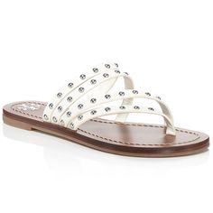 0ed1a6d9 Patos Studded Leather Thong Sandals | Check out our list of the best flip  flops online