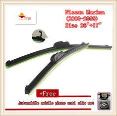 "High-quality Car Windscreen Wiper For Nissan Maxima (2000-2009),Size 26""+17"" #Affiliate"