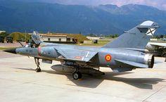 A classic Spanish Air Force Dassault Mirage Air Force Aircraft, Fighter Aircraft, Fighter Jets, Military Jets, Military Aircraft, Spanish Air Force, War Jet, Dassault Aviation, Modern Warfare