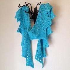 Manitou Scarf - Loom Knit Pattern
