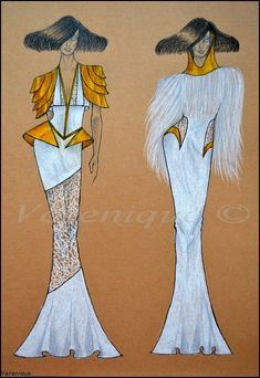 White gold collection 6. by Verenique on DeviantArt