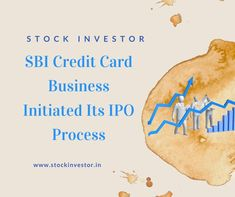 The credit card subsidiary of State Bank of India on Monday said that it would start the procedure of the First sale of stock offer deal. The SBI Charge card Business Initial public offering membership dates will declare at a fitting time, said a source. Initial Public Offering, Bank Of India, Stock Market, Dates, Initials, Business, Date, Store, Business Illustration