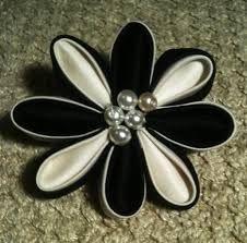 Kanzashi Fabric Flowers TUTORIAL - Google претрага