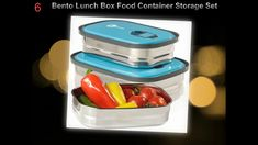 Best Stainless Steel Lunch Boxes | Ten Best Stainless Steel Lunch Boxes ... Stainless Steel Lunch Box, Best Lunch Bags, Lunch Box Recipes, Lunch Boxes, Food Containers, Bento Box, Lunch Box, Bento