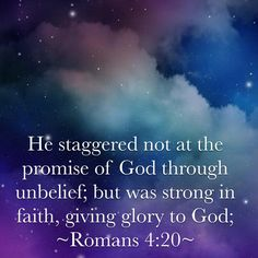 Romans 4:20