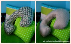Skrzydlata chatka: Jak uszyć poduszkę do karmienia/ rogal/ DIY/ tutorial /