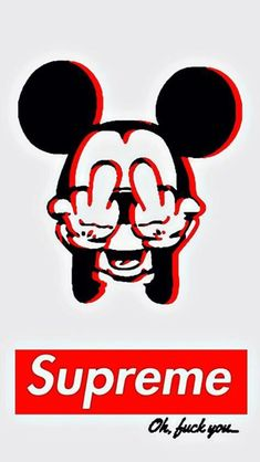 Képtalálatok a következőre: supreme wallpaper mickey mouse Supreme Iphone Wallpaper, Hype Wallpaper, Emoji Wallpaper, Tumblr Wallpaper, Aesthetic Iphone Wallpaper, Wallpaper Quotes, Wallpaper Backgrounds, Mickey Mouse Wallpaper Iphone, Iphone Backgrounds
