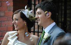 one couple's low budget wedding