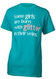 Born with Glitter Unisex Tee | Team Cheer