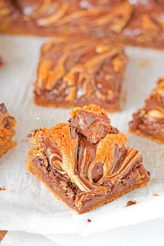 soft, chewy peanut butter cookie base with a generous swirl of melted chocolate, these cookie bars are sure to be a summer time treat the whole family will love.