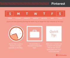 When is the best time to post on Pinterest  Saturdays are your best bet for reaching Pinterest users—and later at night.      Saturdays at 8–11 p.m.     Any day 2–4 a.m. and 2–4 p.m.     Fridays at 3 p.m.