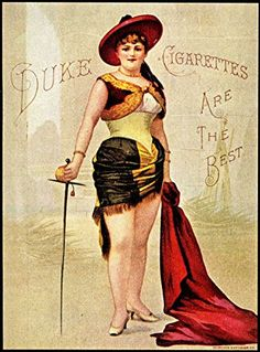 'Duke Cigarettes' (1) - Wonderful A4 Glossy Print Taken from A Vintage Product Ad by Design Artist http://www.amazon.co.uk/dp/B00PGPZG9E/ref=cm_sw_r_pi_dp_mP2rvb0WTJT3W