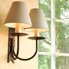 Pin by mon mur on front roomlighting pinterest double cottage wall light made by jim lawrence aloadofball Gallery