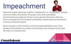 Português para todos: Impeachment