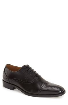 JUMP FOOTWEAR 'Vestige' Oxford (Men) available at #Nordstrom | Wedding  groom attire | Pinterest | Oxfords, Footwear and Nordstrom