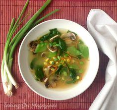 Miso-Vegetable Soup via Taking On Magazines
