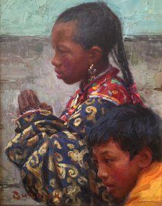 InSight Gallery Artist: Scott Burdick - Title: Prayers for Freedom