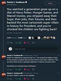 It maddens me to think that our generation has been left with so little. The world is in bad shape, so no wonder kids are fighting back. My Tumblr, Tumblr Posts, Faith In Humanity Restored, Fandoms, Marvel Movies, Along The Way, Equality, Lgbt, Ron Weasley
