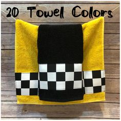 Bath Towels Black and White Check in 5 sizes 20 colors of towel to choose from made for you by August Ave Towels - bathroom towel Bathroom Towels, Bath Towels, Bathroom Stuff, Crochet Towel, Bath Sheets, Guest Towels, Cotton Towels, Bathroom Colors, Picture Design