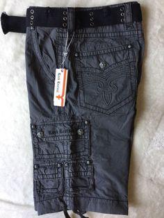 09a9fd5f7a Cargo Solid Regular Size 32 100% Cotton Shorts for Men   eBay. Rock Revival  ...