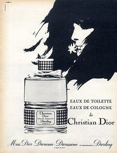vintage perfume posters and ads | Perfume Shrine: The Dior Chypres series ~Diorling: fragrance review