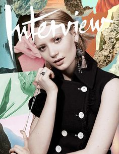 Rosanna Webster adds whimsy and flair to her favourite magazine covers. (See more)